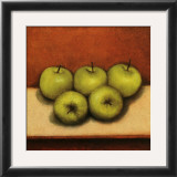 Granny Smith Apples Prints by Bill Creevy