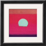 Sunset, c.1972 40/40 (fuchsia) Posters by Andy Warhol