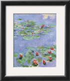 Water Lilies, c. 1914-1917 Posters by Claude Monet