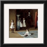 The Daughters of Edward Darley Boit, c.1882 Print by John Singer Sargent