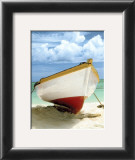 Le Bateau Blanc Posters by Chauve Auckenthaler