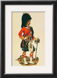 The Seaforth Highlanders Poster by A. E. Haswell Miller