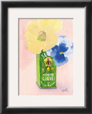 Flowers in a Green Can Poster by Robbin Gourley