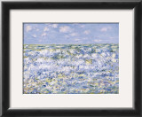 Waves Breaking Prints by Claude Monet