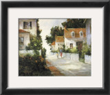 On Sea Street Print by Barbara Applegate
