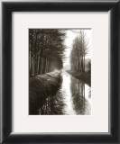 Holland Canal Print by Brett Weston