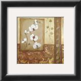 Composicion Flores I Art by Luisa Romero