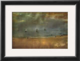 Beach Landscape Posters by Edgar Degas