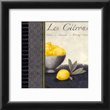 Les Citrons II Print by Linda Wood