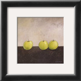 Green Apples Print by Anouska Vaskebova