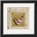 Chaussures Roses Print by Véronique Didier-Laurent