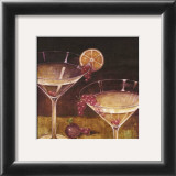 Martini with Grapes II Posters by Eric Barjot