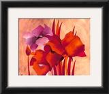Colourful Flowers II Prints by Gisela Funke