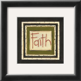 Faith Prints by Karen Tribett