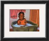 Bath Time Girl Prints by Stanley Morgan