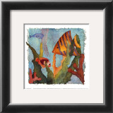 Tropical Fish I Prints by Linn Done