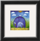 Elephants Prints by L. Edwards