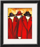 Three Wise Man I Print by Gisela Ueberall