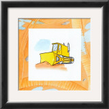 Charlie's Bulldozer Posters by Charles Swinford