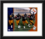 Jerome Bettis Multiple Exposure Framed Photographic Print