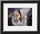Radiant Angel Prints by Edward Tadiello