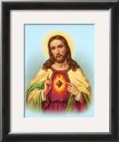 Heiliges Herz Jesu Posters