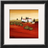 Tuscan Red III Prints by Hans Paus