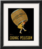 Cognac Pellisson Poster by Leonetto Cappiello