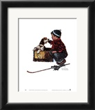 Boy Meets His Dog Prints by Norman Rockwell