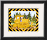 Bulldozer Prints by Marnie Bishop Elmer