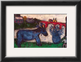 Mono azul Imágenes por Marc Chagall