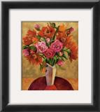 Fire Flowers Prints by Shelly Bartek