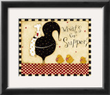 What's for Supper Prints by Dan Dipaolo