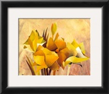 Colourful Flowers I Prints by Gisela Funke