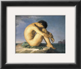 Young Male Nude, 1855 Posters by Hippolyte Flandrin
