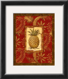 Exotica Pineapple Poster by Charlene Audrey