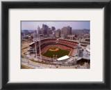 Cincinnati, Ohio - Baseball Print by Mike Smith