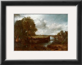 View on the Stour near Dedham Posters by John Constable
