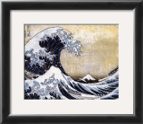 The Great Wave at Kanagawa (from 36 views of Mount Fuji), c.1829 Prints