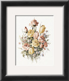 Roses and Tulips Prints by T. C. Chiu