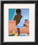 Bath Time Boy Prints by Stanley Morgan