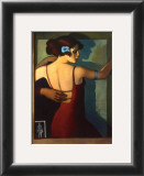 Mirror Dance Poster by Bill Brauer