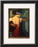 Mirror Dance Poster by Bill Brauer
