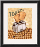 Nifty Fifties, Toast Posters by Charlene Audrey