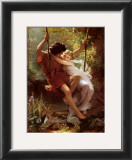 Le Printemps Posters by Pierre-Auguste Cot