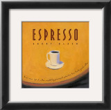 Espresso Posters by Jillian David