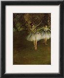 Two Dancers Posters by Edgar Degas