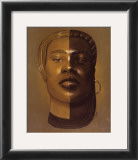 African Mask, no. 29 Prints by Laurie Cooper