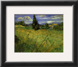 Bles Verts Prints by Vincent van Gogh