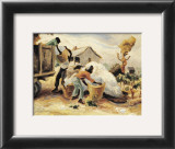 The Cotton Pickers Print by Thomas Hart Benton